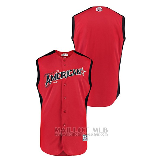 Maillot Baseball Hombre 2019 All Star American League Futures Game Rouge