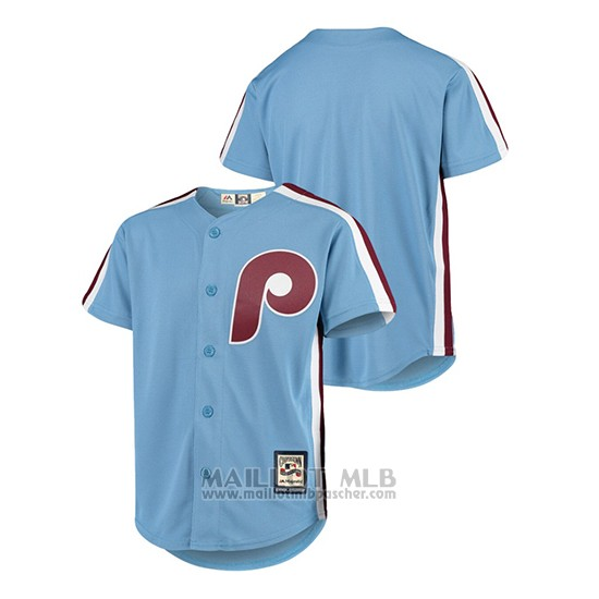 Maillot Baseball Enfant Philadelphia Phillies Cooperstown Collection Cool Base Bleu