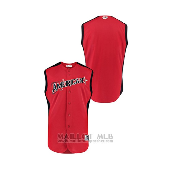 Maillot Baseball Enfant 2019 All Star American League Workout Rouge