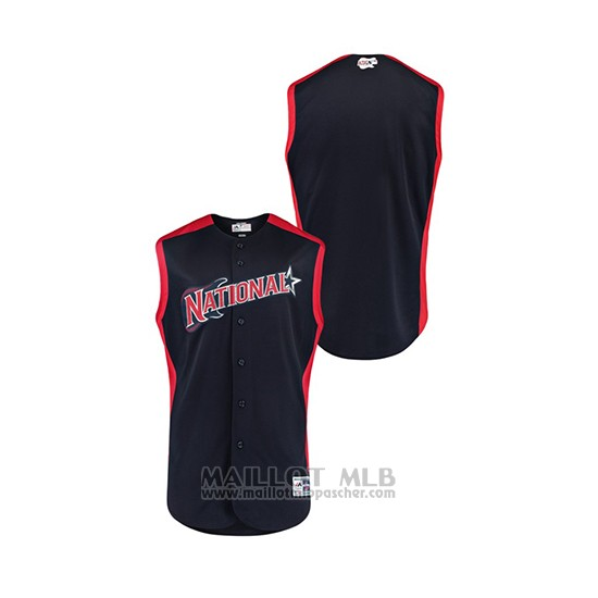 Maillot Baseball Enfant 2019 All Star National League Workout Bleu