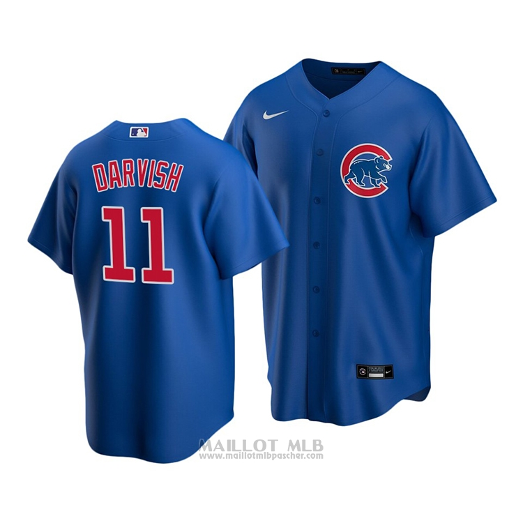 Maillot Baseball Enfant Chicago Cubs Yu Darvish Replique Alterner 2020 Bleu