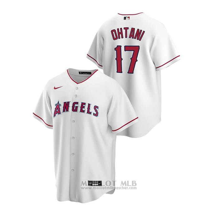 Maillot Baseball Homme Los Angeles Angels Shohei Ohtani Replique Primera Blanc