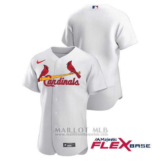 Maillot Baseball Homme St. Louis Cardinals Authentique Nike Blanc