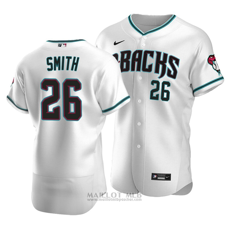 Maillot Baseball Homme Arizona Diamondbacks Pavin Smith Authentique Alterner 2020 Blanc