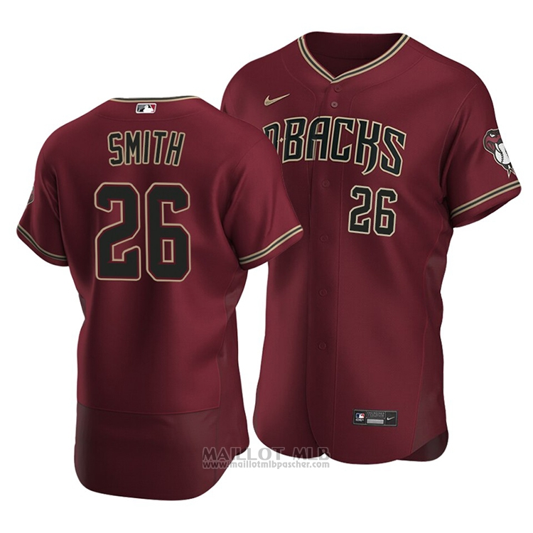Maillot Baseball Homme Arizona Diamondbacks Pavin Smith Authentique Alterner 2020 Rouge