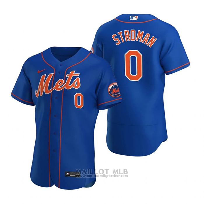 Maillot Baseball Homme New York Mets Marcus Stroman Authentique 2020 Alterner Bleu