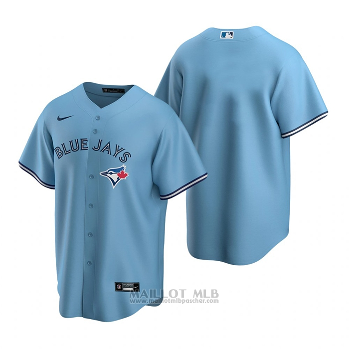 Maillot Baseball Homme Toronto Blue Jays Alterner Replique Bleu