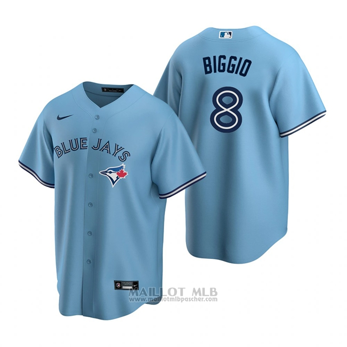Maillot Baseball Homme Toronto Blue Jays Cavan Biggio Alterner Replique Bleu