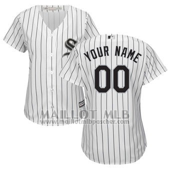 Maillot Baseball Femme Chicago White Sox Personnalise Blanco