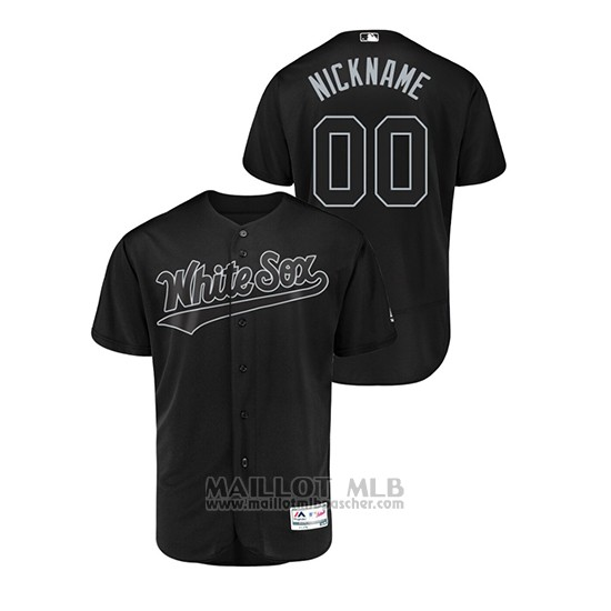 Maillot Baseball Homme Chicago White Sox Personnalise 2019 Players Weekend Authentique Noir