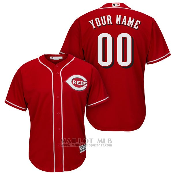 Maillot Cincinnati Reds Personnalise Rouge