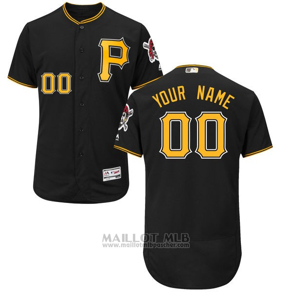 Maillot Pittsburgh Pirates Personnalise Noir