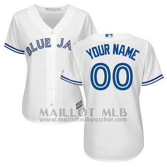Maillot Baseball Femme Tampa Bay Rays Personnalise Blanco